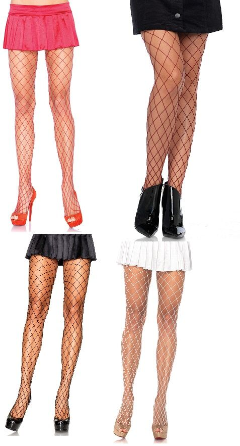 Diamond Net Fishnet Fence Net Tights